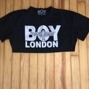 Tops - Boy London Crop Top